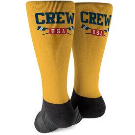 Crew Printed Mid-Calf Socks - Crew USA
