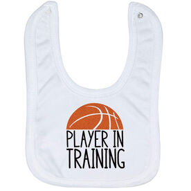 Basketball Baby Bib - Player In Training