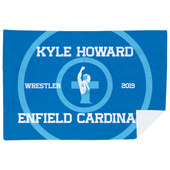 Wrestling Premium Blanket - Personalized Wrestling Team