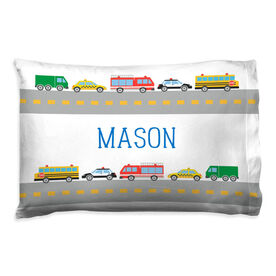 Personalized Pillowcase - Cars