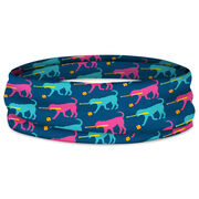 Softball Multifunctional Headwear - Mitts the Softball Dog Pattern RokBAND