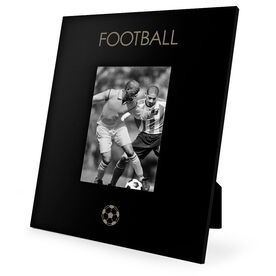 Soccer Engraved Picture Frame - Football