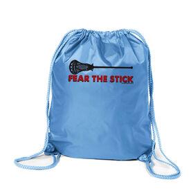 Fear The Stick Lacrosse Sport Pack Cinch Sack