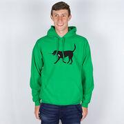 Hockey Hooded Sweatshirt - Howe the Hockey Dog