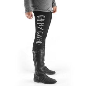 Cross Training High Print Leggings Oh My Quad