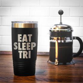Triathlon 20 oz. Double Insulated Tumbler - Eat Sleep Tri