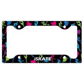 I Skate License Plate Holder