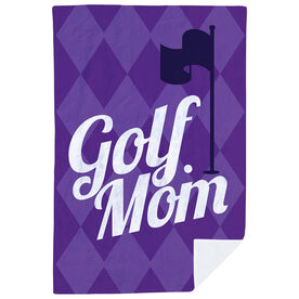 Golf Premium Blanket - Golf Mom