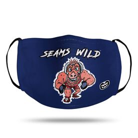 Seams Wild Wrestling Face Mask - Rollez