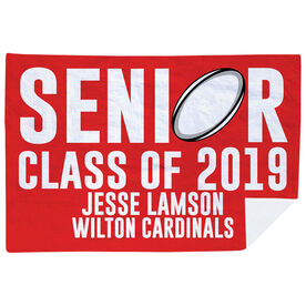 Rugby Premium Blanket - Personalized Rugby Senior Class Of