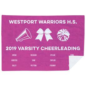 Cheerleading Premium Blanket - Team Roster