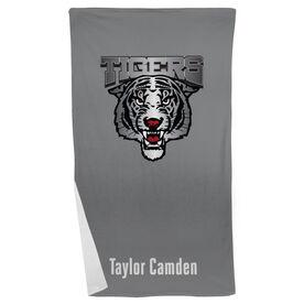 Crew Beach Towel Custom Team Logo