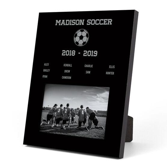 Soccer Photo Frame - Team Roster