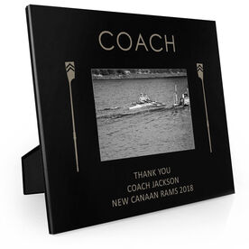 Crew Engraved Picture Frame - Coach