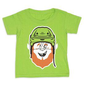 Hockey Toddler Short Sleeve Tee - Lucky McPuck