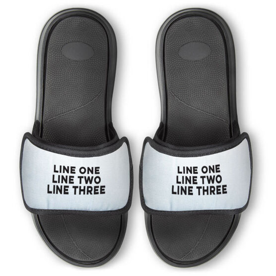 General Sports Repwell® Slide Sandals - Your Text