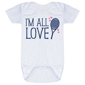 Tennis Baby One-Piece - I'm All Love