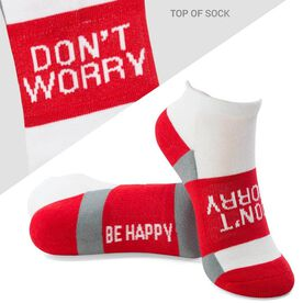 Socrates® Woven Performance Sock Don't Worry (Red)