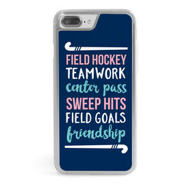 Field Hockey iPhone® Case - Words with Sticks