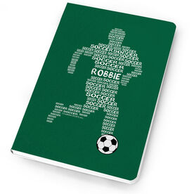 Soccer Notebook - Personalized Soccer Words Guy