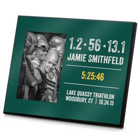 Triathlon Photo Frame Tri Customized Time 70.3