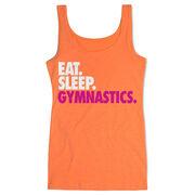 Gymnastics Women's Athletic Tank Top Eat. Sleep. Gymnastics.