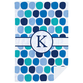 Personalized Premium Blanket - Personalized Colorful Polka Dots