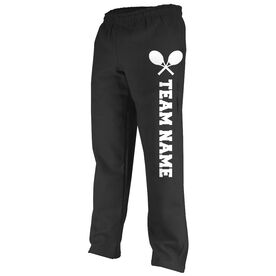 Tennis Fleece Sweatpants Tennis Team Name