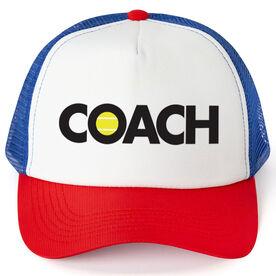 Tennis Trucker Hat - Coach
