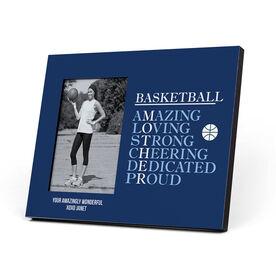 Basketball Photo Frame - Basketball Mothers Words