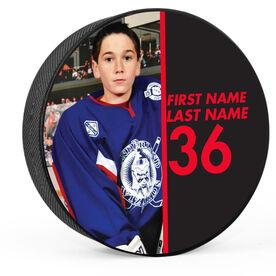Personalized Photo (Split) Hockey Puck