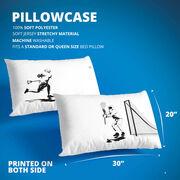 Guys Lacrosse Pillowcase Set - Go For The Goal