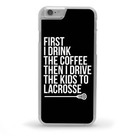 Lacrosse iPhone® Case - Then I Drive The Kids To Lacrosse