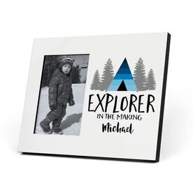 Personalized Photo Frame - Explorer in the making