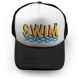 Swimming Trucker Hat Swim