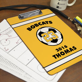 Soccer Custom Clipboard Personalized Soccer Team