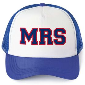 Personalized Trucker Hat - Mrs. (Sporty)
