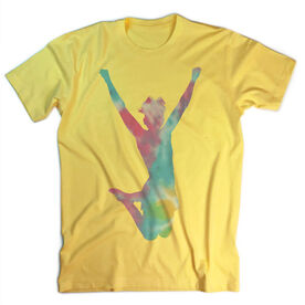 Vintage Cheerleading T-Shirt - Tie Dye Cheerleader