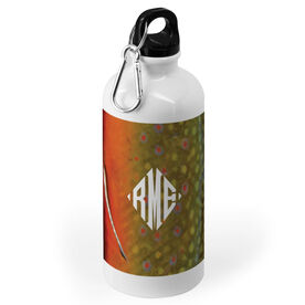 Fly Fishing 20 oz. Stainless Steel Water Bottle - Brook Trout
