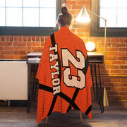 Basketball Premium Blanket - Personalized Big Number