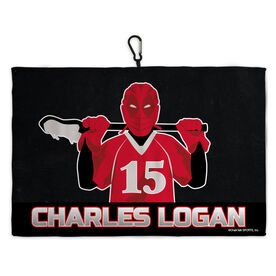 Lacrosse Bag Towels Super Lacrosse Player