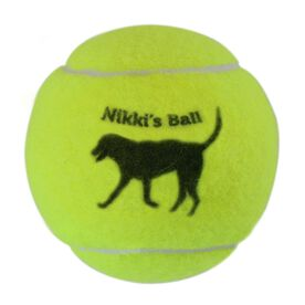 Personalized Dog's Ball Tennis Ball