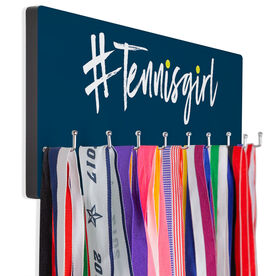 Tennis Hooked on Medals Hanger - Hashtag Tennis Girl