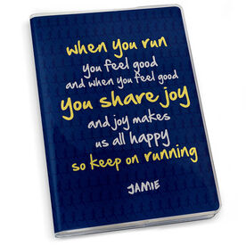GoneForaRun Running Journal - When You Run You Feel Joy