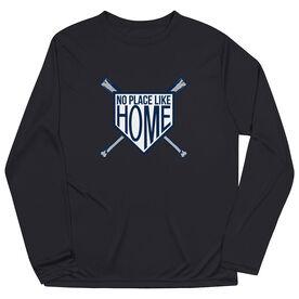 Baseball Long Sleeve Performance Tee - No Place Like Home