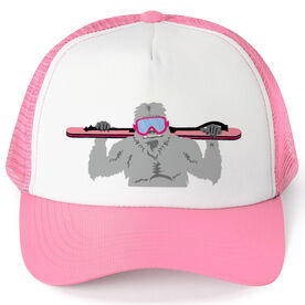 Skiing Trucker Hat - Yeti