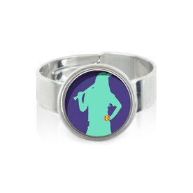Softball Girl SportSNAPS Ring