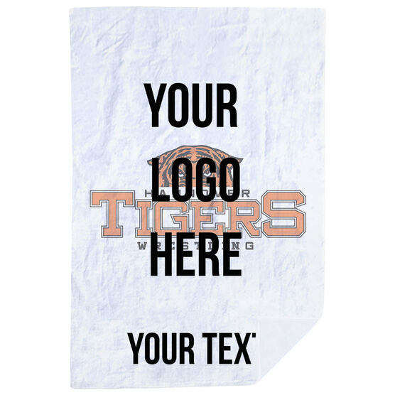 Wrestling Premium Blanket - Custom Logo