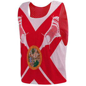 Guys Lacrosse Pinnie - Florida Flag