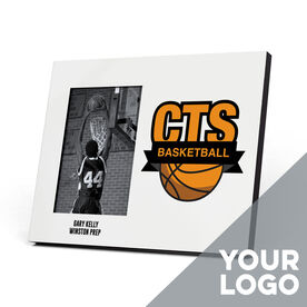 Basketball Photo Frame - Custom Logo